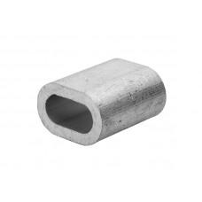Зажим-наконечник для троса,алюминевый 5мм