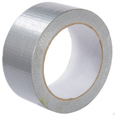 Армированная клейкая лента 50 мм х 10 м серебристая