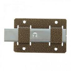 Задвижка дверная ЗД-02 полимер