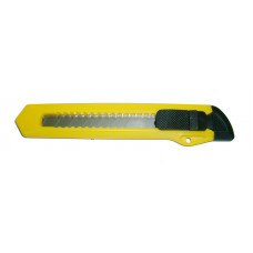 Нож 18 мм, сегмент, пластик корпус