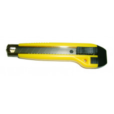 Нож 18 мм, сегмент, напр, пластик корпус