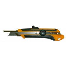 Нож 18 мм, сегмент, напр, доп.усил, круг.фиксатор, комби корпус
