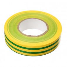 Изолента 19мм*20м желто-зеленая
