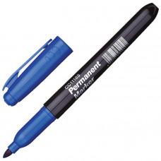 Маркер синий, перманентный 12 шт