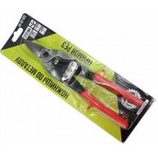 Ножницы по металлу 250 мм, однокомпонентная ручка