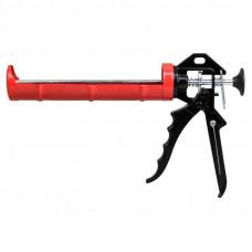 Пистолет для герметика с мет фиксатором 225мм полукорпусный усиленный